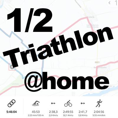 1/2 triathlon in Coronatijd @home